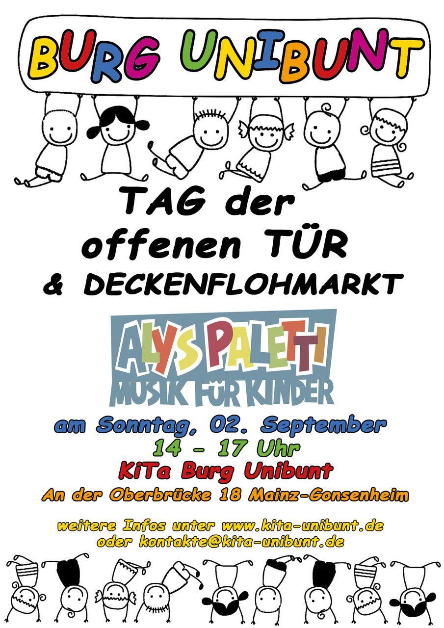 tag der offenen Tuer - Poster